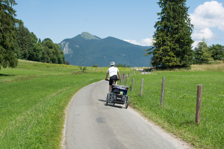 Gipfel im Blick: der Jochberg.