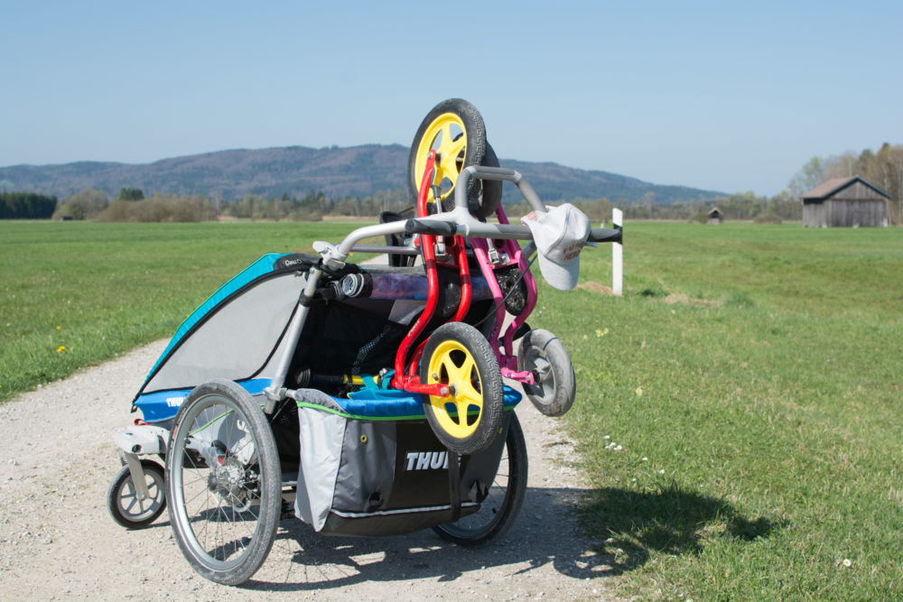 Thule Chariot CX2 als Packesel