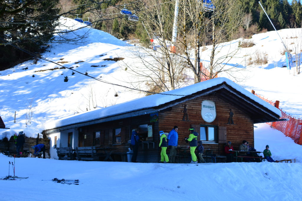 Milchhäusl Hütte