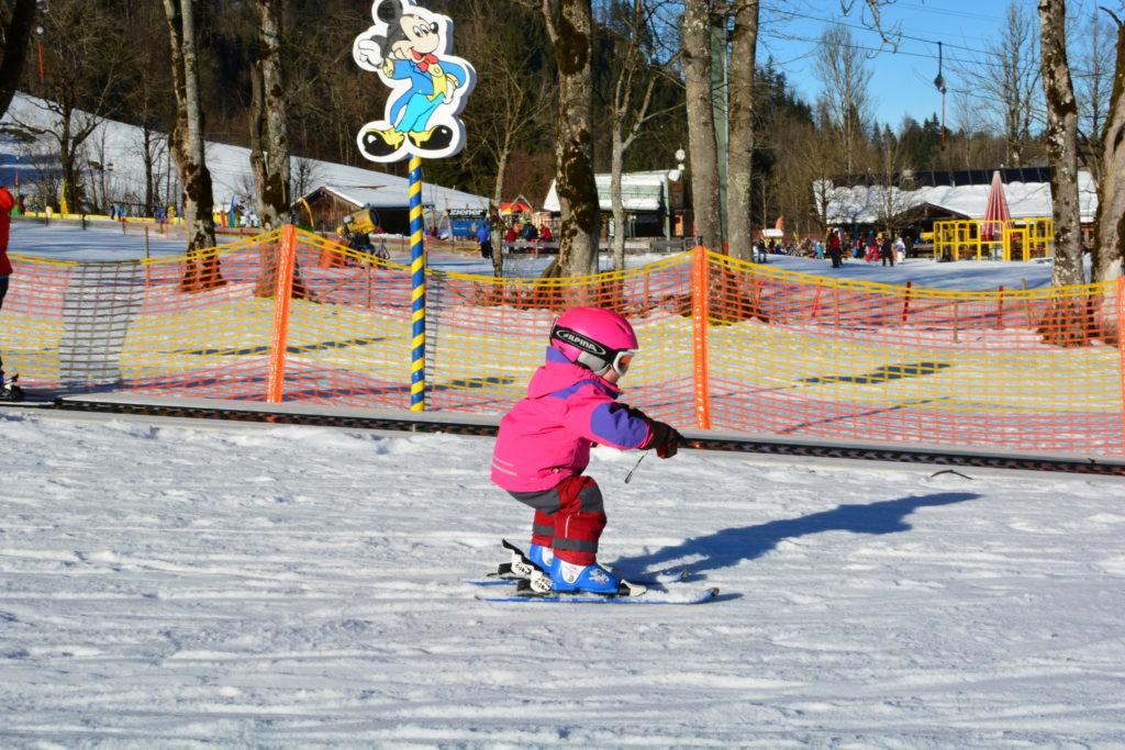 Skifahrenlernen