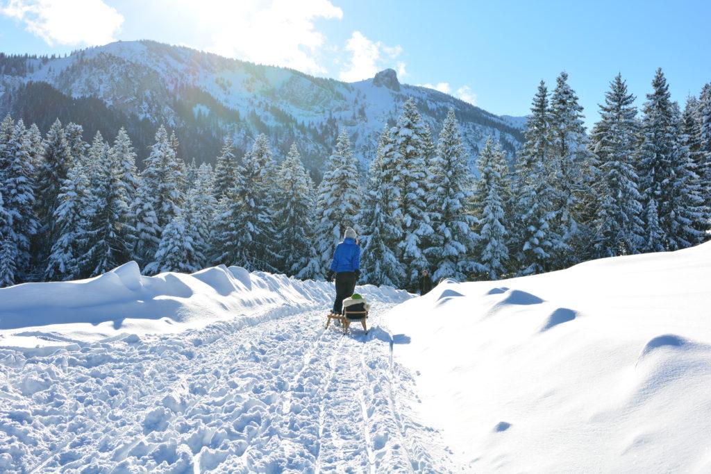 Ein traumhafter Wintertag im Längental