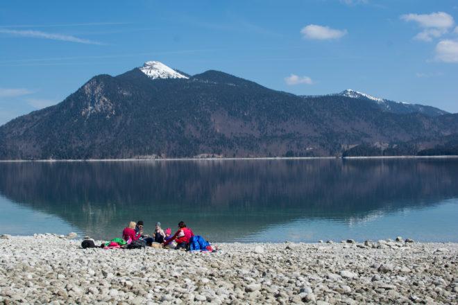 Picknick am Walchensee