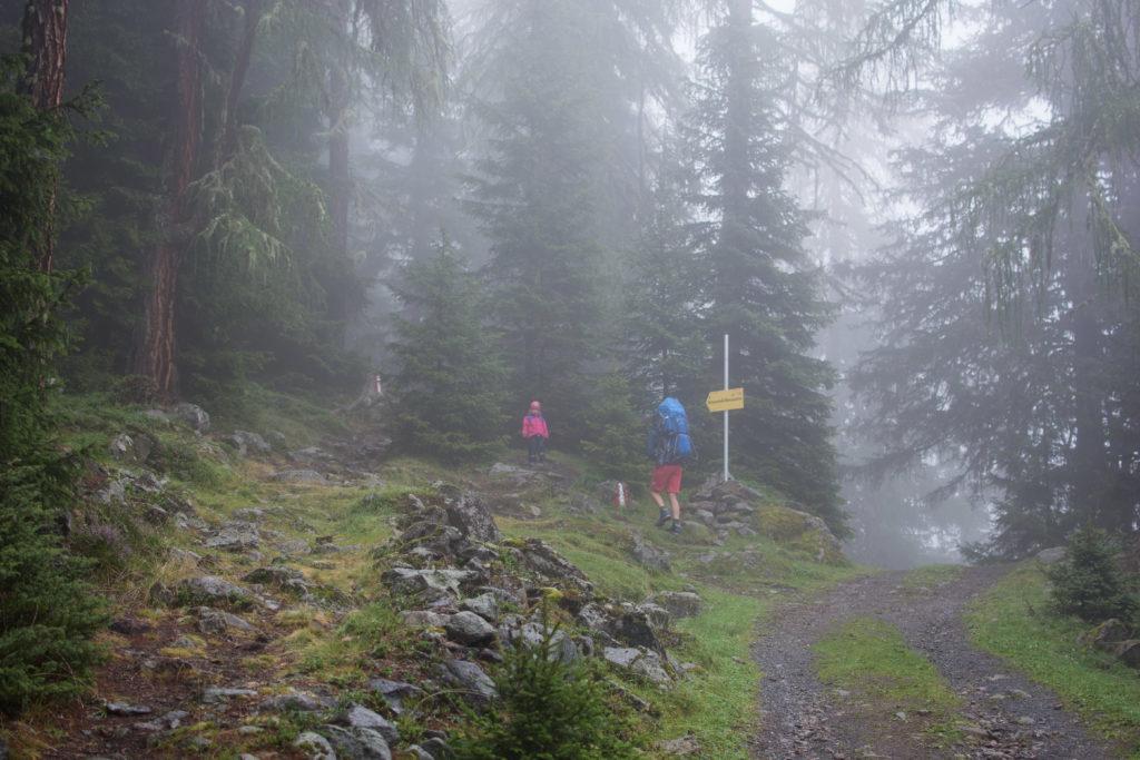 Aufstieg zur Winnebachseehütte