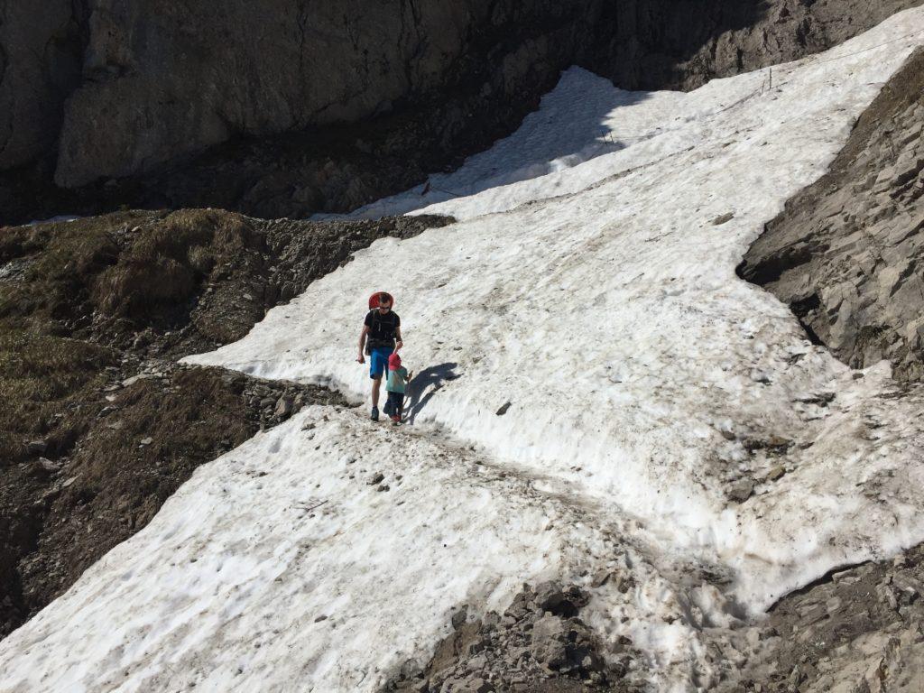 Schneefeldquerung