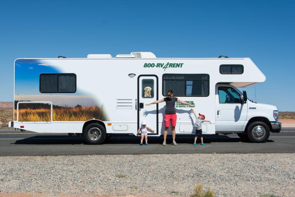 Abenteuer Wohnmobilreise mit Kindern