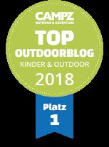 Top Outdoorblog 2018 Mit Kindern auf Outdoor-Abenteuer