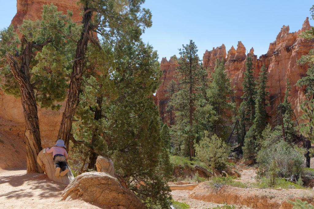 Wandern mit Kind im Bryce Canyon
