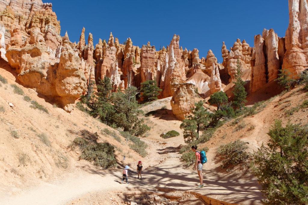 Wandern mit Kindern im Bryce Canyon