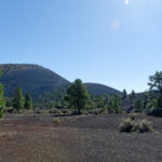 im Sunset Crater National Park bei Flagstaff