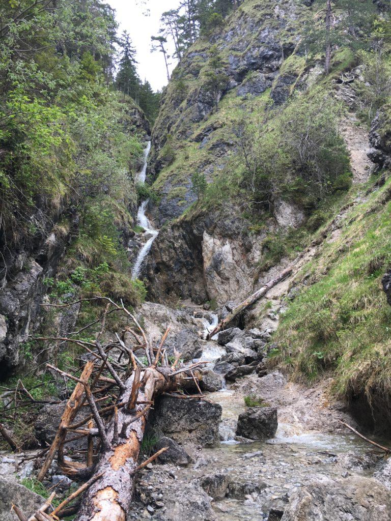 Wasserfall bei der Schalmeischlucht