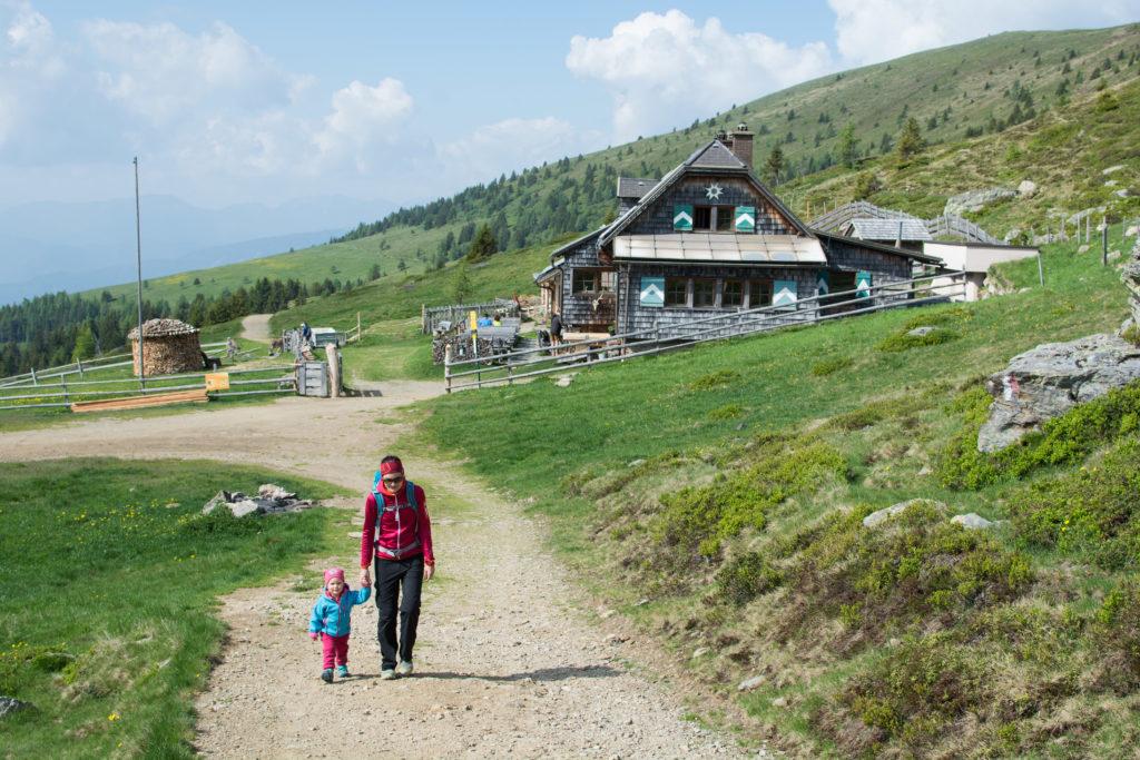Millstätter Hütte wandern mit kindern
