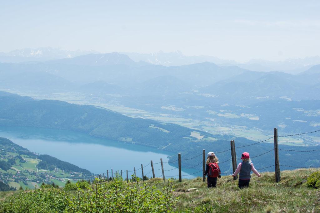 Wandern mit Kindern in Kärnten Millstätter See Kärnten