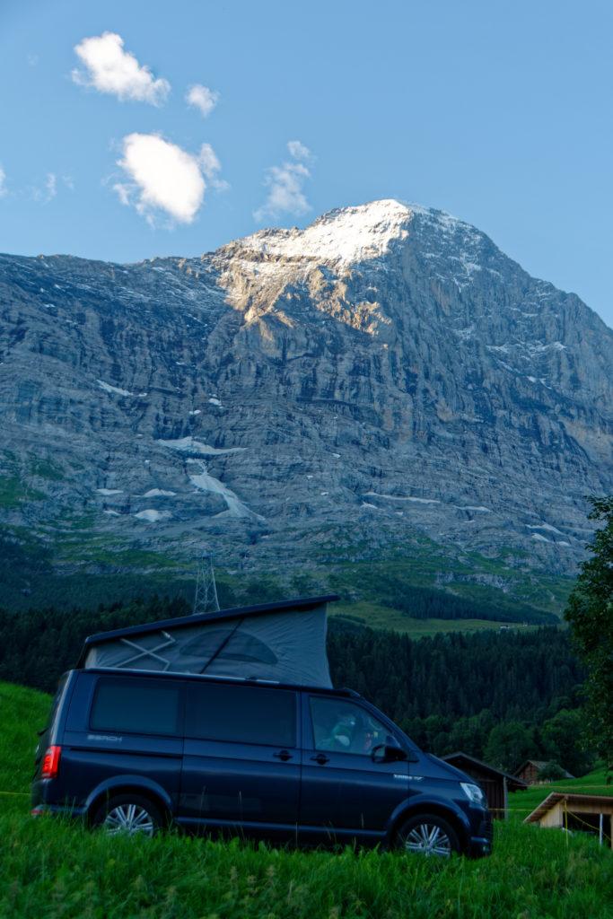 Grindelwald Eiger camping