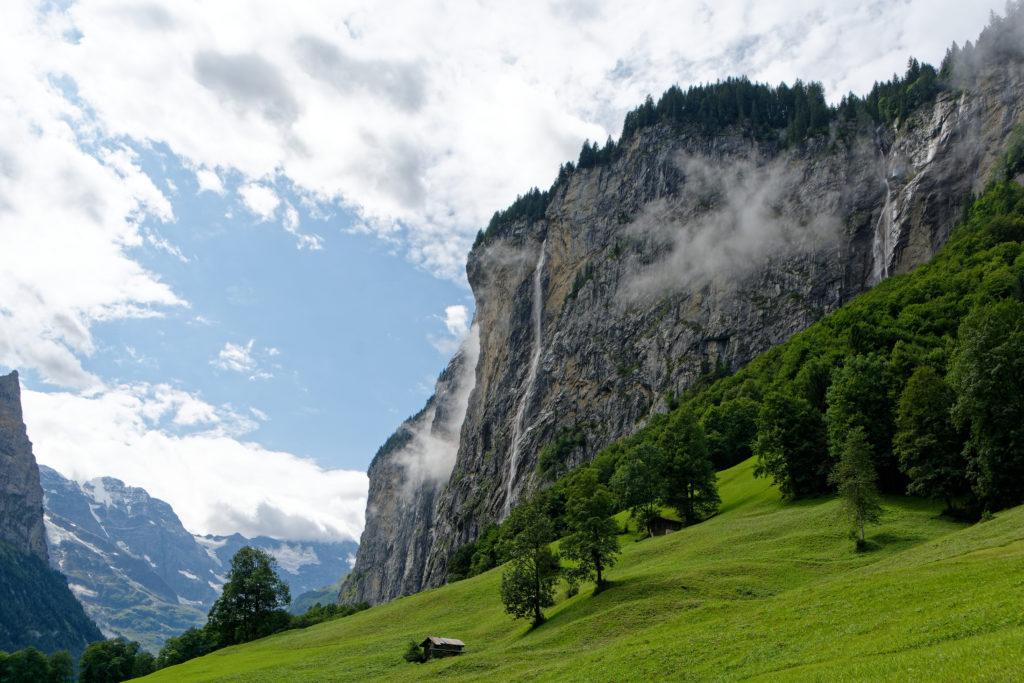 Lautenbrunnental Wasserfall