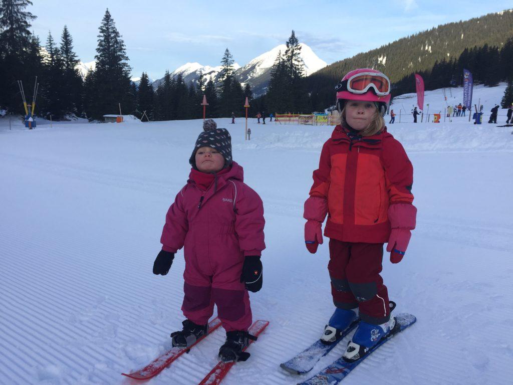 Skifahren mit Kindern Lernski im Test