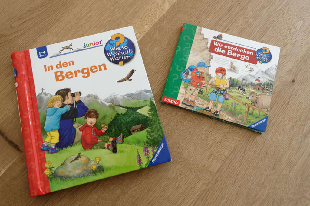Kinderbuch Berge Wieso Weshalb Warum