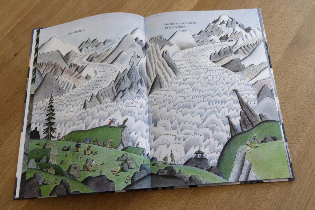 Kinderbuch Berg Mont Blanc
