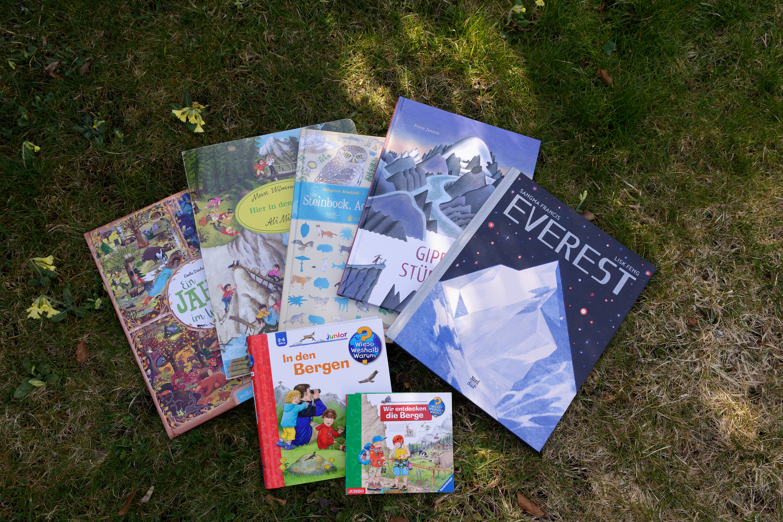 Kinderbücher über die Welt der Berge