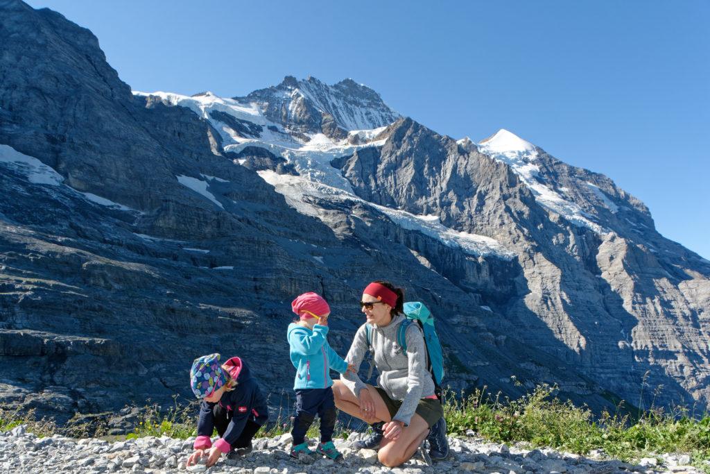 Wandern mit Kindern in der Schweiz Jungfrau Region