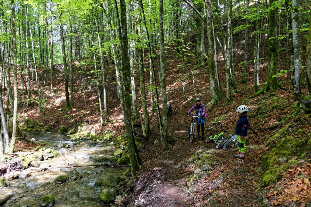 Schliersee Josefsthaler Wasserfälle mit Kindern