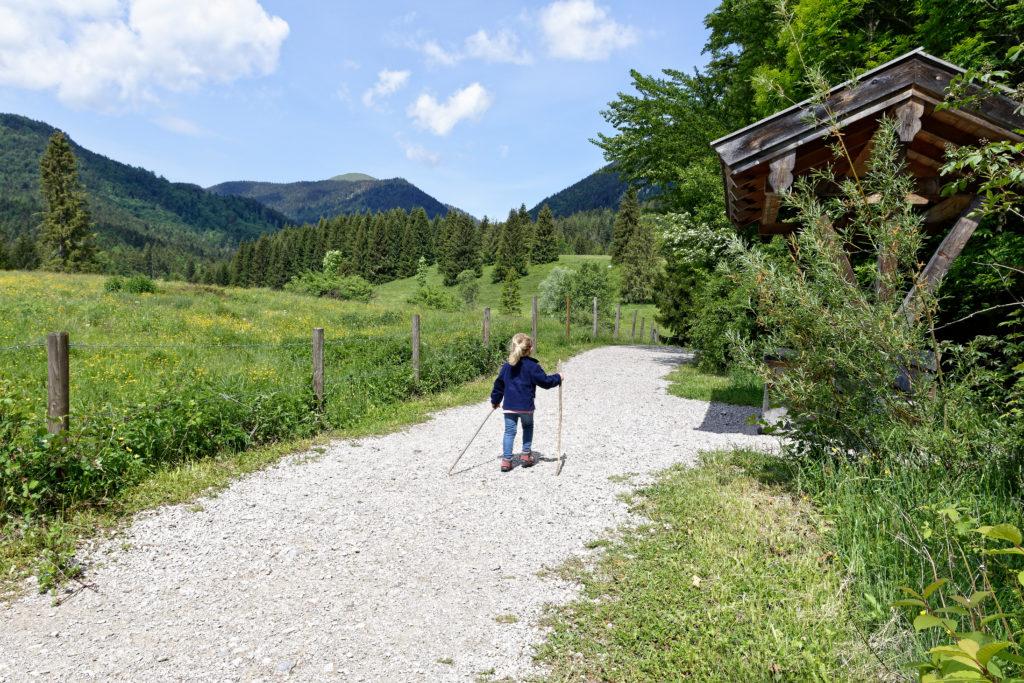 Wandern mit Kindern in der Jachenau