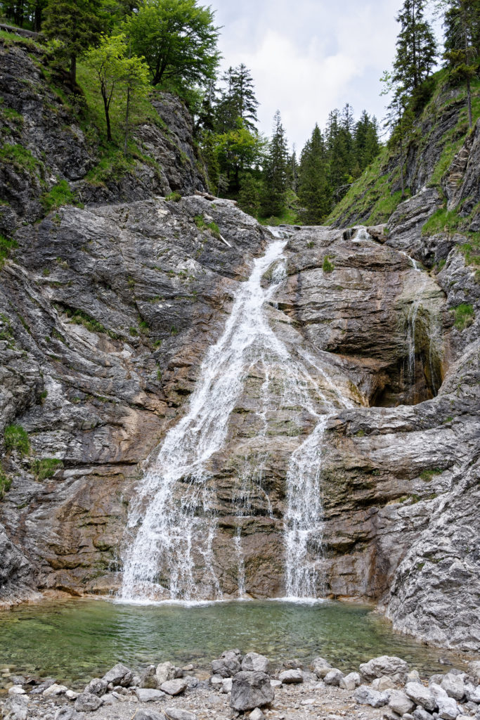 Lainltal Wasserfall in der Jachenau