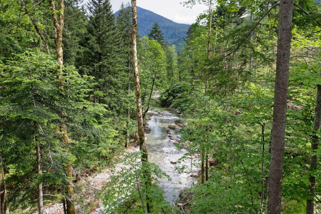 Wanderung zum Wasserfall Jachenau