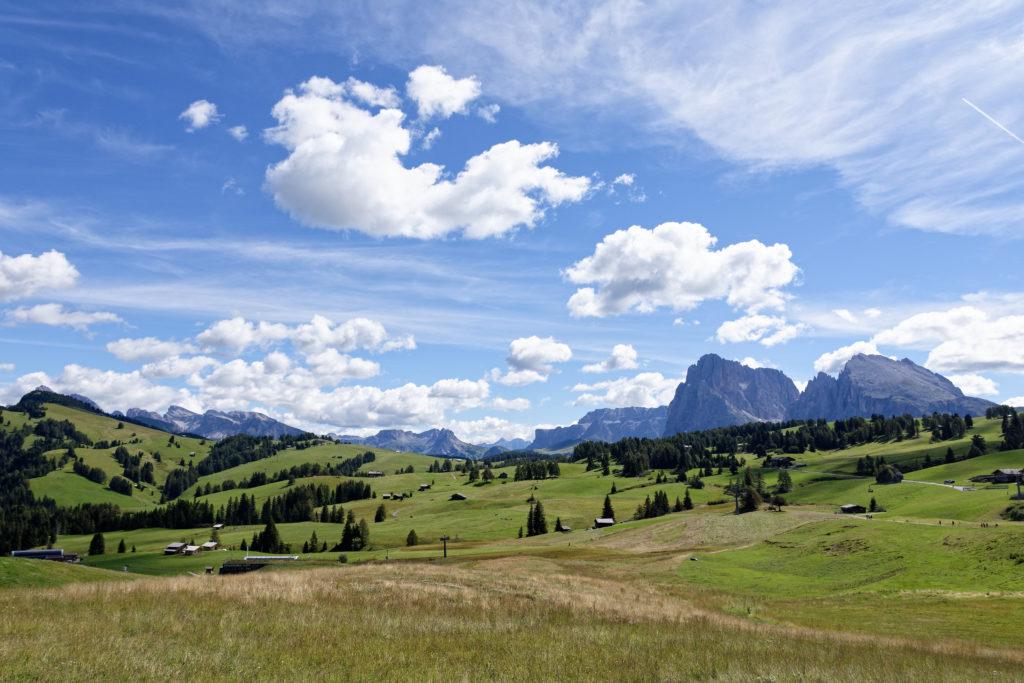 Wandern mit Kindern auf der Seiser Alm in Südtirol