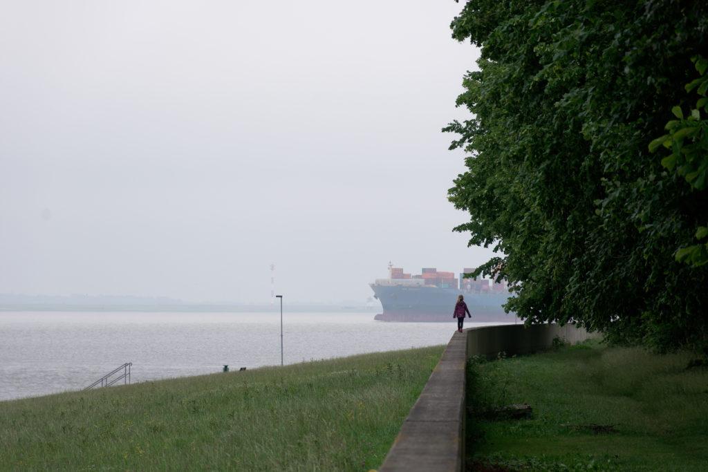 Brunsbüttel Nord-Ostsee-Kanal Elbmündung