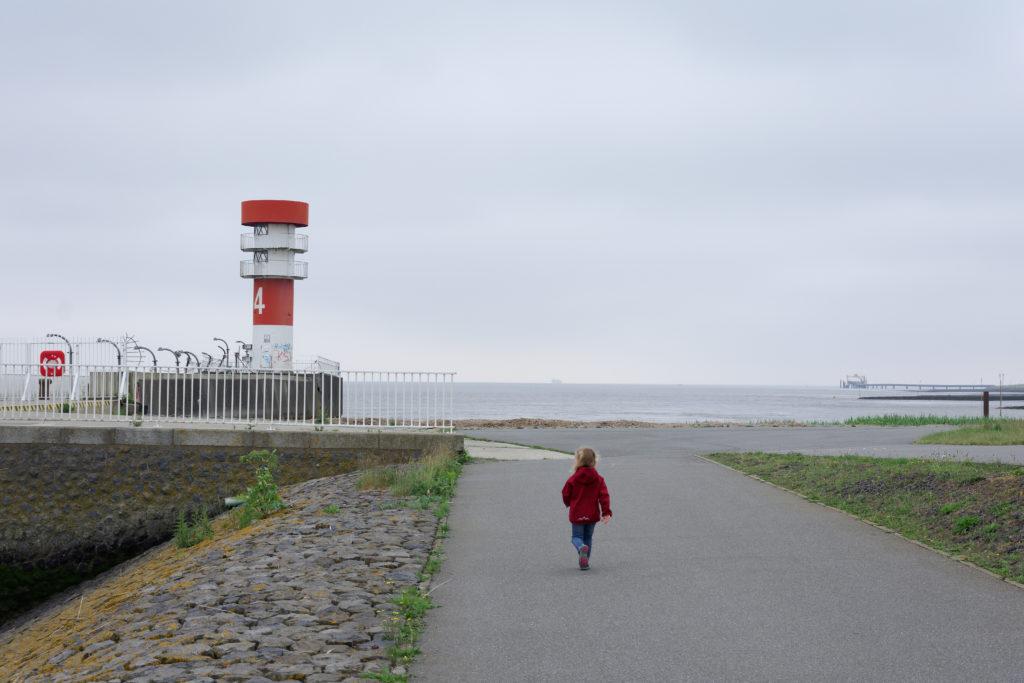 Leuchtturm Mole 4 Brunsbüttel Nordsee