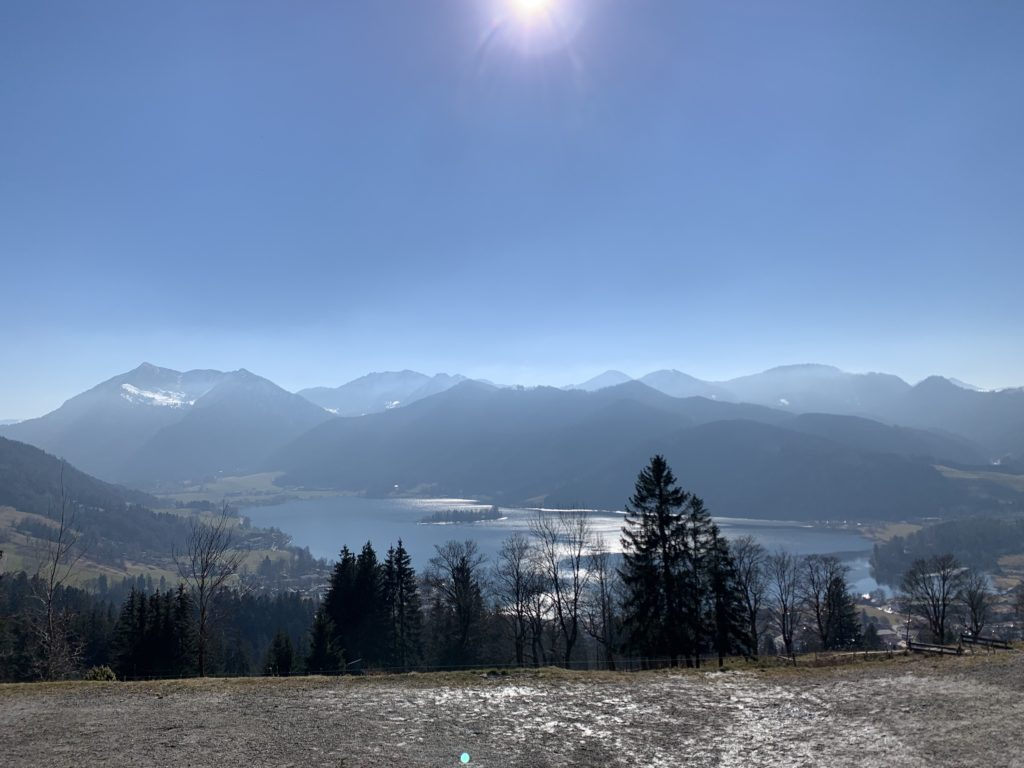 Ausblick von der Schliersbergalm
