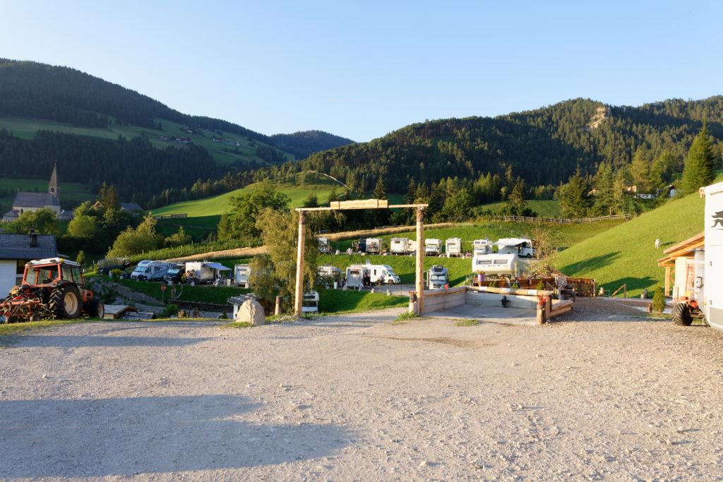 Camping mit Kindern in Südtirol bei St. Magdalena